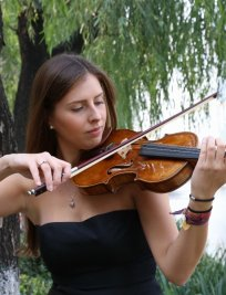 Katarzyna teaches Advanced Violin