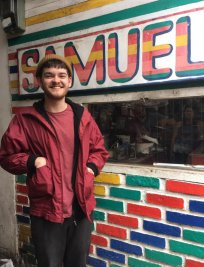 Samuel is an Art tutor in Stepney Green