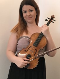 Anastasia offers Violin lessons in Stepney Green