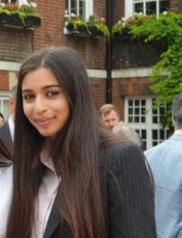 Isha is an English tutor in Kew
