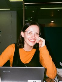 Aude is a French tutor in Scotland