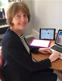 Fiona teaches Music Theory lessons in Colchester