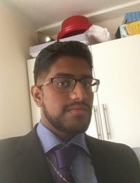 Abishan is a German tutor in East London